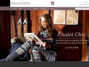 Sweaty Betty website