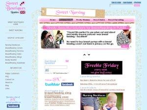 SweetNursing website