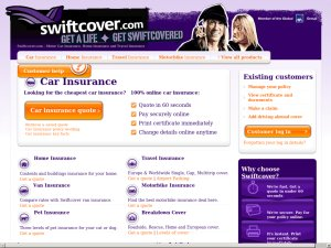 Swiftcover website