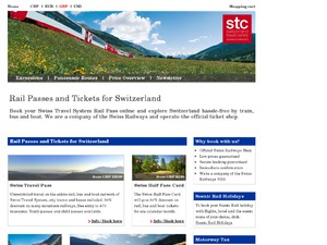Swiss Travel System website