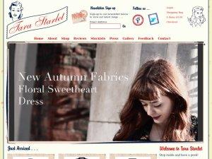 Tarastarlet website