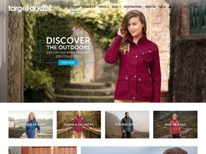 Target Dry website