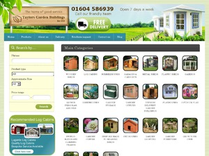 Taylors Garden Buildings website