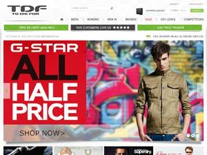 TDF Fashion website