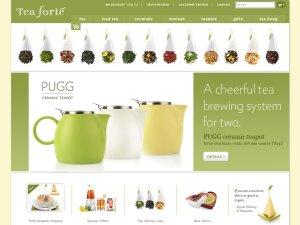 Tea Forté website