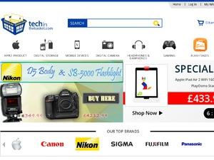 Tech in the basket website