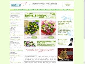 Teleflorist website