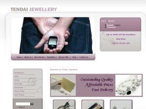 Tendai Jewellery website