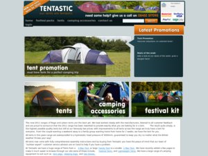 Tentastic website
