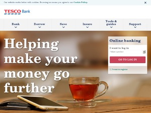 Tesco Home Insurance website