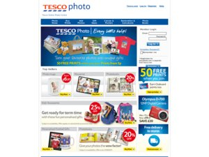 Tesco photo website