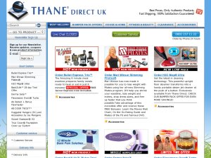 Thane Direct website