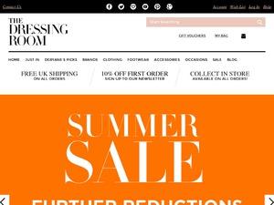 The Dressing Room website