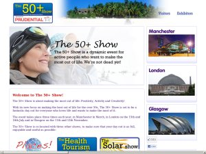 The Retirement Show website