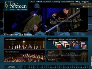 The sixteen website