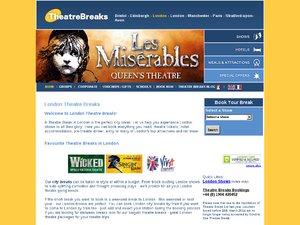 Theatre Breaks website