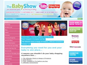 The Baby Show website