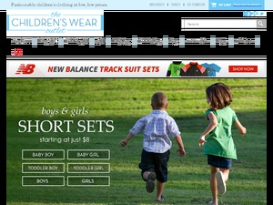 The Childrens Wear Outlet website