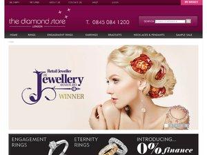 The Diamond Store website