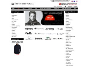 The Fashion Hut website