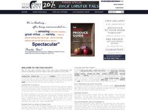 The Fish Society website