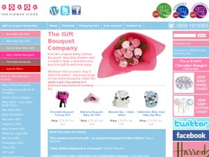 TheFlowerStork website
