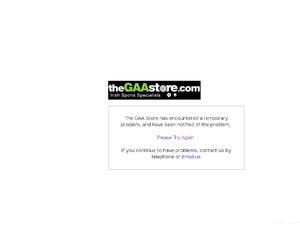 GAA Store website