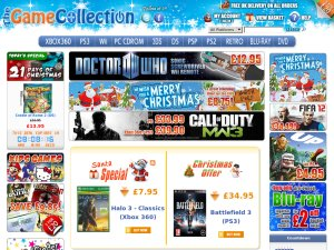 The Game Collection website