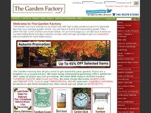 The Garden Factory website