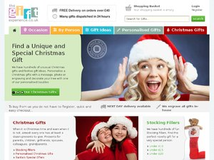 The Gift Experience website