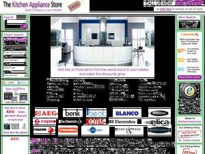 TheKitchenApplianceStore website