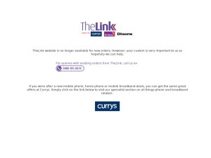 The Link website