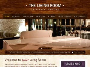 TheLivingRoom website