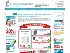 The Office Supplies Supermarket website
