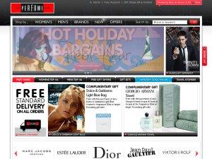 The Perfume Shop website