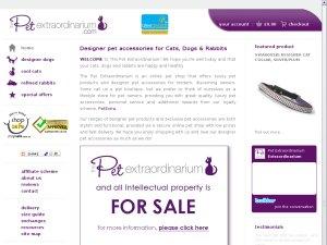 The Pet Extraordinarium website
