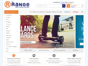 The Range website