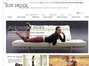 The Raw Denim Bar website