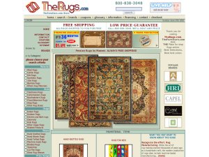 The Rugs website