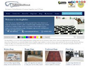 The Rug Seller website