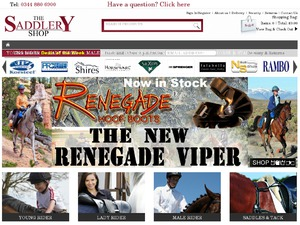 Saddlery Shop website