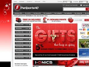 Sports HQ website