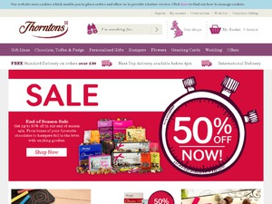 Thorntons website