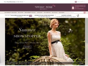 Tiffany Rose website