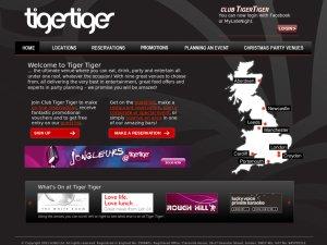 Tiger Tiger website