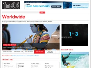 Time Out website