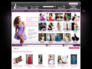 TJ Formal website