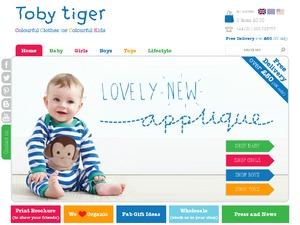 Toby Tiger website