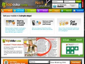 Top Dollar Mobile website
