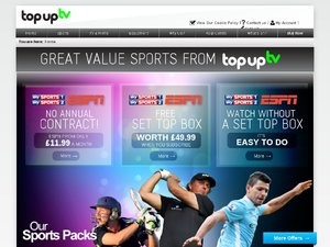 Top-Up TV website